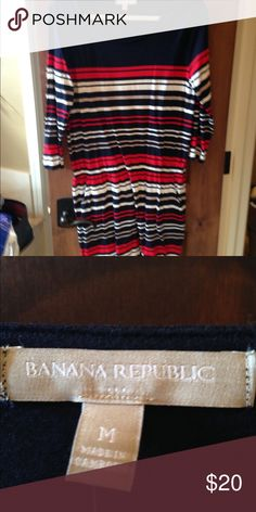 Dress Brand new  never worn  size medium banana republic dress great deal!!!! Banana Republic Dresses Midi