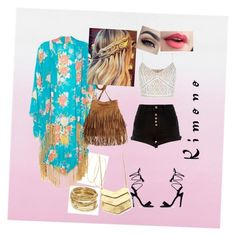 """""""Untitled #29"""" by riya97 on Polyvore featuring River Island, New Look, ABS by Allen Schwartz, Lana, Jagger and kimonos"""