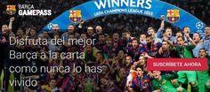 Disfruta de todos los partidos del FC Barcelona a la carta gracias a Barça GamePass