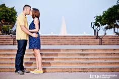 Featured Engagement Shoot: A Late Afternoon Photo Shoot at Balboa Park | Aly  Christopher / from truephotography.com