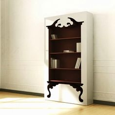 The design of the Vintage Bookshelf proposes the blending of the flamboyant baroque style with the simplicity of the contemporary approach to achieve a bookshelf that will be easy to adapt to any interior setting. The Vintage Bookshelf is meant to be more than an average fixture in your home. With its overwhelming presence, the shelf is set to become a centerpiece statement and lasting abode for your beloved literature or simply that trinket you want to display so badly.