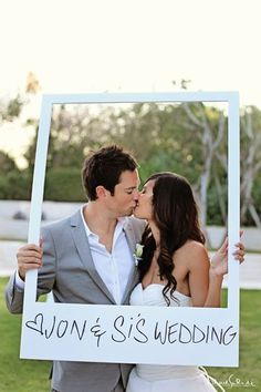 Frames As Props Wedding Ideas Belle Wedding and Wedding ideas