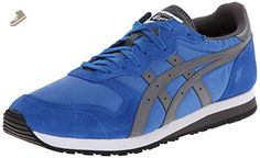 Onitsuka Tiger OC Runner Classic Running Shoe, Strong Blue/Grey, 13 M US - Onitsuka tiger sneakers for women (*Amazon Partner-Link)