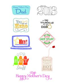 May/June 2013 Full Page of sentiments - Paper Crafts magazine