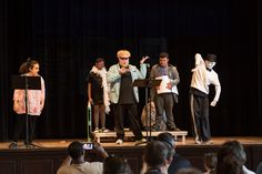 At the Winter Vacation Theater Program, students step outside their comfort zone as they rehearse and perform a play.