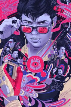 Baby Driver by Vincent Aseo - Home of the Alternative Movie Poster -AMP- Orange Cinema, Movie Synopsis, Fanart, Alternative Movie Posters, Cinema Movies, Movie Poster Art, Chef D Oeuvre, Love Movie, Disney Fan Art