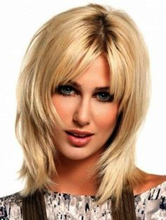 Cool Medium Hairstyles For Girls ~ http://wowhairstyle.com/medium-hairstyles-for-girls/