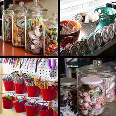 junkgarden: Organize.....your craft supplies