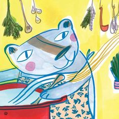 [review + recipes] Cooking with Bear by Deborah Hodge and Lisa Cinar