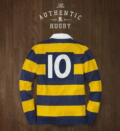 The Authentic Rugby---Ralph Lauren.  I bought one for Bill and Brother Bobby.
