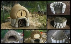 Bake your own bread and pizza right in your backyard!  Get the link to the instructions for this cob oven by viewing the full album.