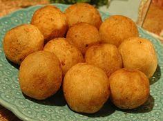 Bolinho de mandioca e carne mo�da de forno - Veja mais em: http://www.cybercook.com.br/bolinho-de-mandioca.html?codigo=69507