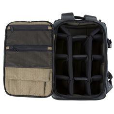 Black Medium DSLR Backpack