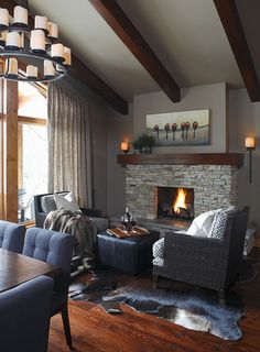 Rustic and Modern...gorgeous!!
