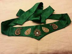 Sash ( dasmaal kamar ) by Sumaya Creations Afghan Wedding, Iranian, Afghans, Afghanistan, Wedding Things, Sash, Culture, Traditional, Costumes