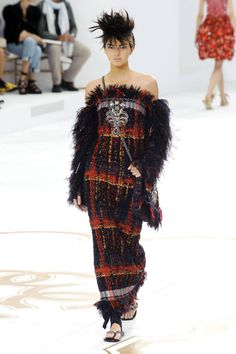 Chanel Haute Couture Fall 2014. See all the best looks here.