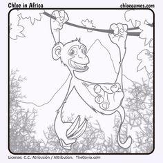ChloeInAfricaChimp by Fran-atic on DeviantArt Apps, Tablets, Chloe Games, Africa, Deviantart, Painting, Painting Art, Paintings, App