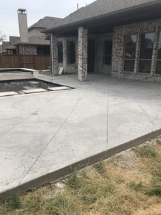 Custom Concrete Design Frisco Texas In 2019 Ideas For