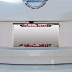 Florida State Seminoles Small Over Small Mega License Plate Frame - $19.99