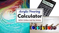 Acrylic Paint Pouring Supplies - Essentials and Fancy Add-ons – Smart Art Materials Acrylic Painting Tips, Pour Painting, Painting Hacks, Acrylic Gel, Acrylic Pouring Techniques, Acrylic Pouring Art, Stencil Diy, Stencils, Top Paintings