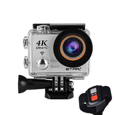 8e4954108bc96 Pro4S 4K 30fps Full HD Action Camera Sony Sensor 20MP Shooting 3-Hours Life  G-SENSOR Aerial Photography WIFI 2.4G Remote Image Transmission Waterproof  for ...