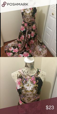 New York & Company maxi dress Beautiful maxi dress. Worn twice and is in great condition. New York & Company Dresses Midi