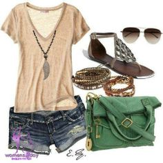 Stylish shorts & T-shirts for summer 2013 - stylish teens 2013