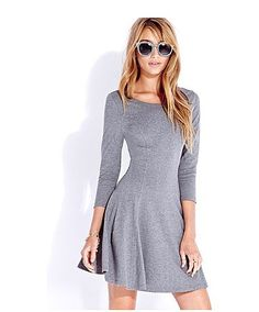 The Knit List —  : What's easier, more flattering, or more affordable than this Forever 21 classic skater dress ($14).