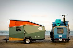 cricket trailer. designed by a NASA architect, compact, lightweight... awesome camper
