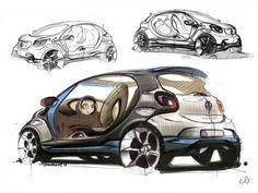 Smart Forjoy Concept Design Sketch Gallery