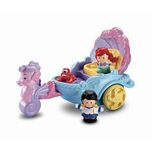 Fisher-Price Little People Disney Princess - Ariel's Coach