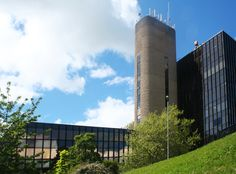 This one of my own shots of Northgate House. Northgate House is a modern purpose build office block in situated on the edge of Darlington town centre, in Darlington Co Durham.  Built in the 1970's it is a well know local landmark that bears down on you ha