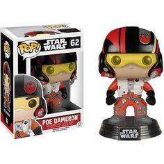Star Wars The Force Awakens Poe Dameron  Pop! Vinyl Figure: Image 1