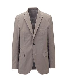 MEN'S STRETCH COTTON JACKET Uniqlo, $69.90