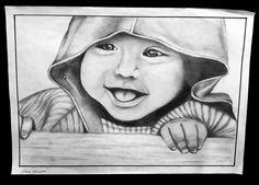 #bimbo #portrait #art #instart #drawing #pencil #realism #artistic #piccolo #illustration #scuolainternazionaledicomics #2016