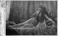 Lillie Langtry as Cleopatra, 1891