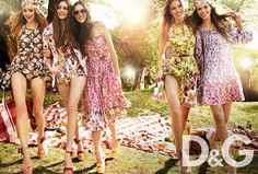 DG spring summer womenswear D Spring Summer 2011 Campaign