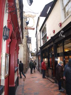The Lanes of Brighton. Great for mooching about for a while.