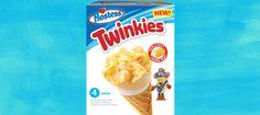 #Twinkies New #IceCream Cones coming soon. #Hostess #Cupcake Ice Cream, Sno Balls Bars, Sno Balls Ice Cream, Twinkies Cones, Twinkies Ice Cream, and a Ding Dong Sandwich. #ezswag #havefun #icecream #desserts #summertime #sweettooth