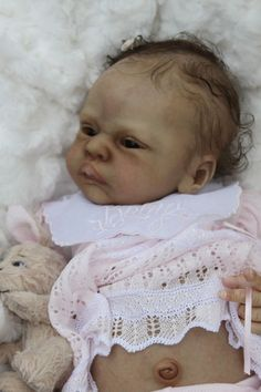 AMAZING reborn life like baby girl art doll DIXIE by Sylvia Manning