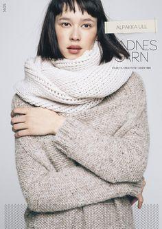 """Cover of alpakka ull voksen"""" Alpaca Wool, Sweater Weather, Knitwear, Turtle Neck, Street Style, Knitting, Sweaters, Black, Knits"""