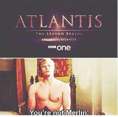 But it's a good show anyway, very Merlin-y, but it's just not the same. Ya feel?