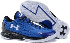 Under Armour Curry One Low Elite 24 Red Royal Blue White