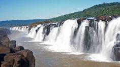 Salto do Yucumã. Foto: D. Meller Salto do Yucumã  – Rio Grande do Sul - Brasil