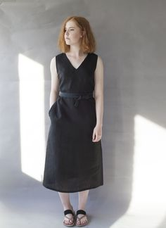 Sandholm linen dress. www.niinmun.fi