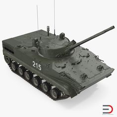 3D model Russian Armored Vehicle BMP-3 Green Rigged Armored Vehicles, Rigs, Military Vehicles, Buses, Trailers, Tanks, Models, 3d, History