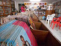 Discolombia Barranquilla magasin vinyles