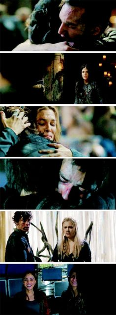 Together. #The100 #Season3Finale #3x16 @oxmariieee