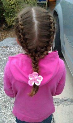 Perfect lil girl hair<3