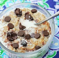 Recipe For Coconut Cookie Dough Oatmeal